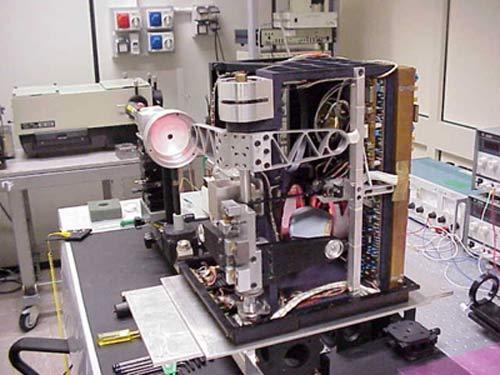 PFS presso i laboratori del CNR IFSI di Roma durante la fase di allineamento e calibrazione